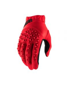 GLOVE YTH AIR RD/BK SM